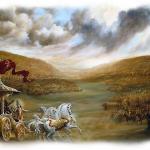 Krsna-battle field