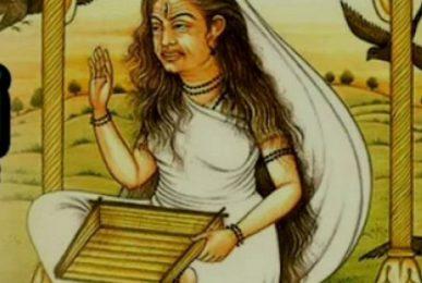 Alakshmi devi