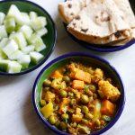 mixed veg curries
