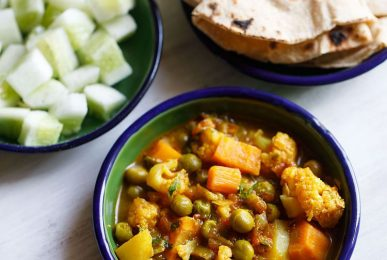 mixed veg curries